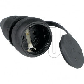 ABL Gummi Kupplung spritzwassergeschützt IP44, Zugentlastung