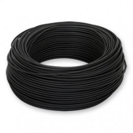 100 Meter Bund Aderleitung, 1,5² H07V-U, schwarz, inkl. CU