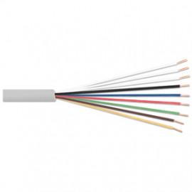 10 Meter Telefonleitung, 4 x 2 x 0,6²mm J-Y (ST)Y, inkl. CU