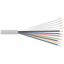 10 Meter Telefonleitung, 6 x 2 x 0,6²mm J-Y (ST)Y, inkl. CU