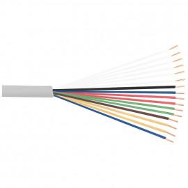 100 Meter Telefonleitung, 8 x 2 x 0,6²mm J-Y (ST)Y, inkl. CU