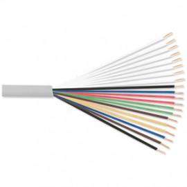 100 Meter Telefonleitung, 10 x 2 x 0,6²mm J-Y (ST)Y, inkl. CU