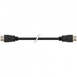 HDMI Anschlusskabel, Stecker / Stecker, PVC, Läng 5 m