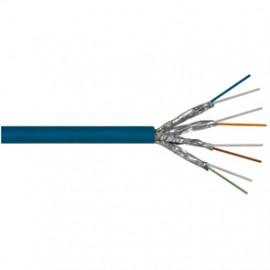 100 Meter Datenleitung, ST/STP, Kat-7, 4P SC23-FRNC (4 x 2 x AWG23/I), 1200 MHz