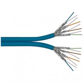 10 Meter Datenleitung, ST/STP, Kat-7, 8P SC23-FRNC (2 x 4 x 2 x AWG23/I), 1200 MHz