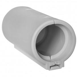 Verbindungsmuffe für gewelltes Rohr, grau Ø M 32 mm