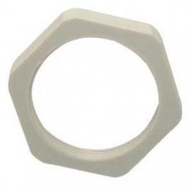 50 Stück Iso Kabelverschraubung Gegenmutter, halogenfrei Gewinde M20