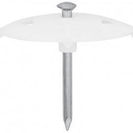 100 Stück Nagelscheibe, NAGEL-FIX, Nagel-Ø 3,5 x Nagel Länge 40 mm