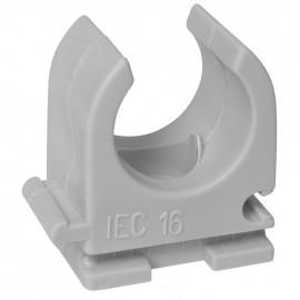 100 Stück Reihen Klemmschelle, M 16, für Rohr (Pg 9, IRO 13,5), anreihbar
