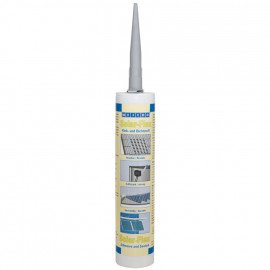 Montagekleber, SOLARFLEX, 1 Komponente, 290 ml, grau, PE-Kartusche