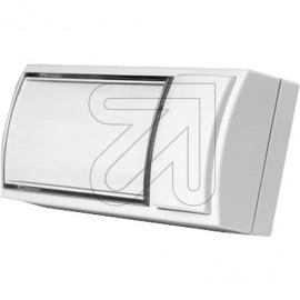 Klingeltaster Montilux Aufputz Kunststoff, mit Namensschild, beleuchtet