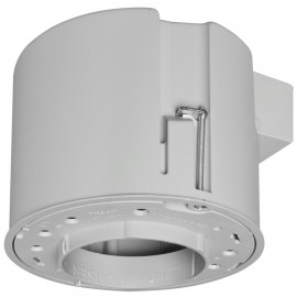 Leuchten Einbaugehäuse, THERMOX ET 90 mm, DA 120 mm Fronteil DA Ø 75 mm