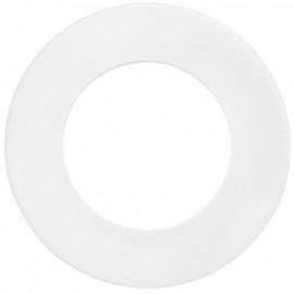 Leuchten Dekoblende, THERMOX für den Innenbereich Metall weiß DA 68 mm +75 mm