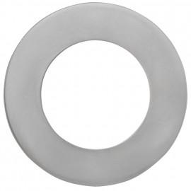 Leuchten Dekoblende, THERMOX / Innenbereich Metall Nickel matt  DA 68 mm +75 mm
