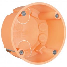 25 Stück Hohlraum-Schalterdose, Ø 68 mm, Tiefe 45 mm