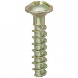 100 Stück Schrauben für UP Dosen Länge 15 mm mit Schlitz/Kreuz PZ1-Kopf