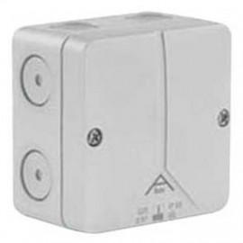 2-Komponenten-Kabeldose, ABOX 025, AP, Länge 80 mm, Breite 80 mm, Höhe 52 mm
