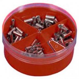 Aderendhülsen Box, 4,0²mm bis 16²mm, nach DIN 46228, Kupfer verzinnt Inhalt 130 Stück