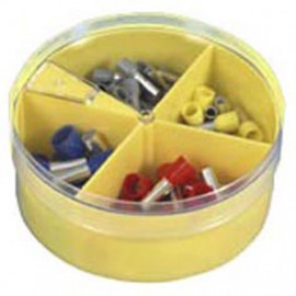 Aderendhülsen Box, mit Isolierstoffkragen, 4,0² bis 16²mm, nach DIN Farbcode 46228