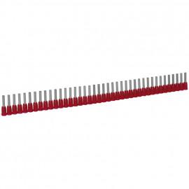 1000 Stück Aderendhülsen für STARFIX Ø 1,0²mm Länge 7,7 mm Rot