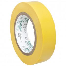 PVC Isolierband, PROFI 150, Breite 15 mm, Länge 10 m Farbe gelb - 10 Stück