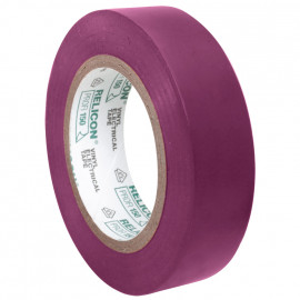 PVC Isolierband, PROFI 150, Breite 15 mm, Länge 10 m Farbe blaulila - 10 Stück