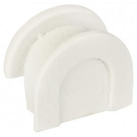 Profildichtung für Porzellan-Unterteile, Atlantis Porzellan weiß