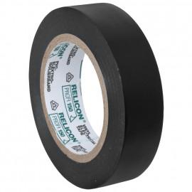 PVC Isolierband, PROFI 150, Breite 15 mm, Länge 10 m Farbe schwarz - 10 Stück