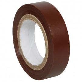 PVC Isolierband, PROFI 150, Breite 15 mm, Länge 10 m Farbe braun - 10 Stück