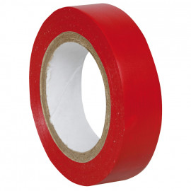 PVC Isolierband, PROFI 150, Breite 15 mm, Länge 10 m Farbe rot