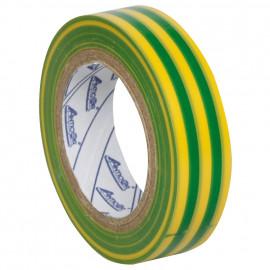 PVC Isolierband, PROFI 150, Breite 15 mm, Länge 10 m Farbe grün/gelb - 10 Stück