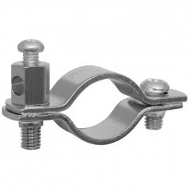 Erdungsrohrschelle, für Kupferrohre Größe 1/2 Zol, für Rohr-Ø 18-22 mm