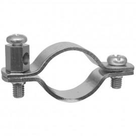 Erdungsrohrschelle, für Kupferrohre Größe 3/4 Zoll, für Rohr-Ø 25-28 mm