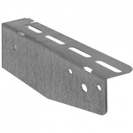 Wandkonsole für Kabelrinne System P31, Stahlblech Länge 100 mm