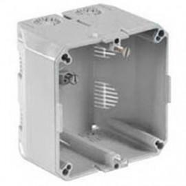 Geräteeinbaudose für PVC Kanäle und Brüstungskanäle 60 und 70 mm