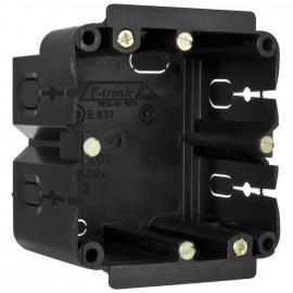 Geräteeinbaudose für Kanäle von Gewiss®, Rehau®, Licatec® Typ 1 fach