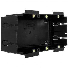 Geräteeinbaudose für Kanäle von Gewiss®, Rehau®, Licatec® Typ 2 fach