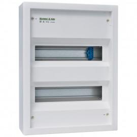 Kleinverteiler, 2-reihig, Höhe 385 mm, AP IP30 ohne Tür - ABB