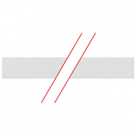 Isolierung für 1-polige Steg- und Gabel-Phasenschiene - Pollmann