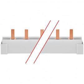 Steg Phasenschiene, 16 mm², 3-polig, L-Form, für 12 LS-Schalter ABB PRO M/COMPACT