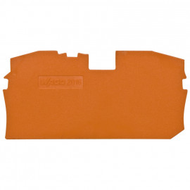 2 Stück Abschlußplatte für Durchgangs - klemmen, 16² - Wago Reihenklemmen