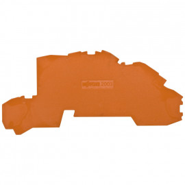 2 Stück Abschlußplatte für Etagenklemmen, 2,5² - Wago Reihenklemmen