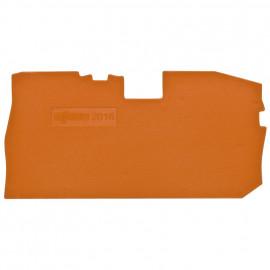 2 Stück Abschlußplatte für Trennklemmen, 2,5² (4²) - Wago Reihenklemmen
