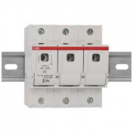 Sicherungslasttrennschalter für D02 Schmelzeinsätze, 63A, 3-polig, Baureihe ILTS-E3
