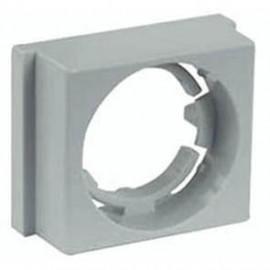Berührungsschutzdeckel zu Einbausicherungss. Höhe 60mm, Breite 53 mm E33