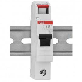 LS Leitungsschutzschalter, 1 polig, 16A, B Charakteristik, Baureihe S 200 S - ABB