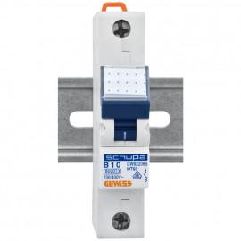 LS Leitungsschutzschalter, 1 polig, B Charakteristik Nennstrom 10A - Gewiss