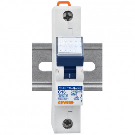 LS Leitungsschutzschalter, 1 polig, C Charakteristik Nennstrom 16A - Gewiss