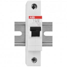 LS Leitungsschutzschalter, 1 polig, 10A, B Charakteristik, Baureihe S 200 - ABB