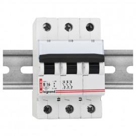 LS Leitungsschutzschalter, 3-polig, C Charakteristik 16A, Baureihe LEXIC DX-E